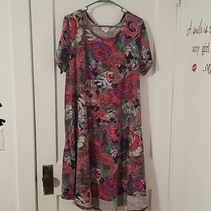 Floral print Carly (Size 3X)